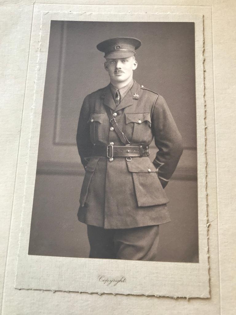 Lt Hugh Launcelot Cass, 1915