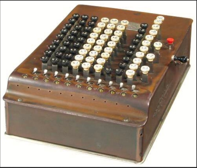 Model F Comptometer