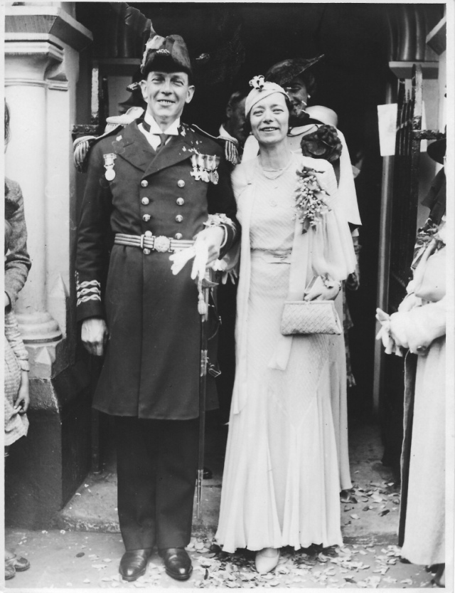 Dora and John Metcalf 1935