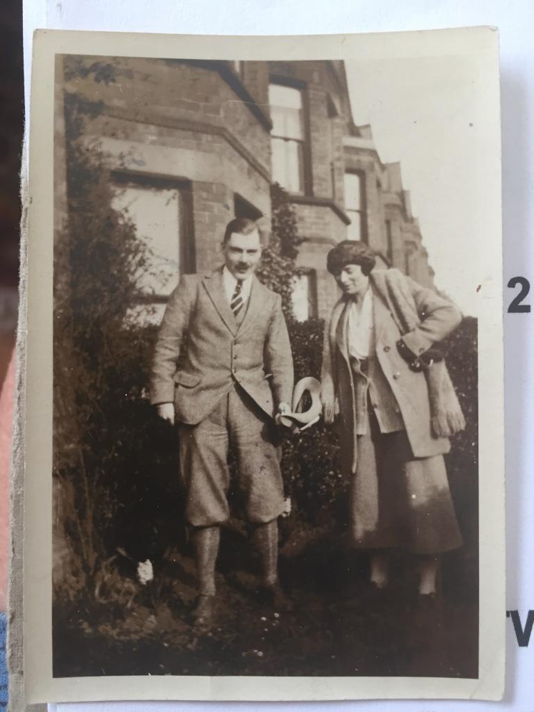 Geoffrey Cass and Dora Greene