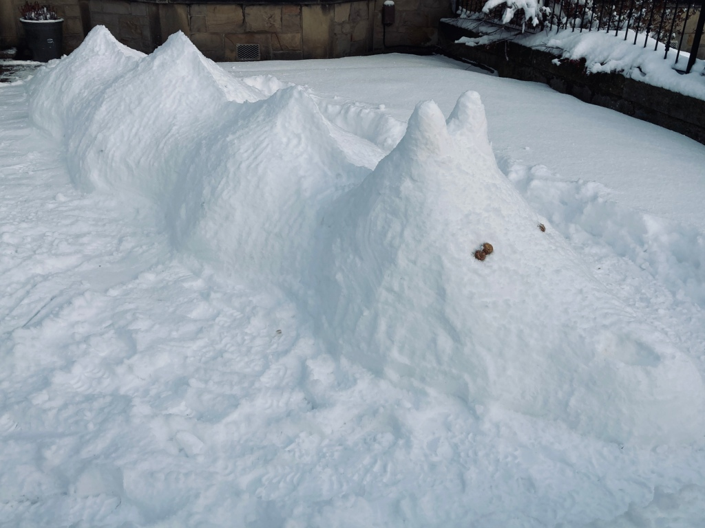 snow-Morag monster, created in Feb 2021.